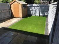 Artificial grass off cut 4 x 3.7 meters