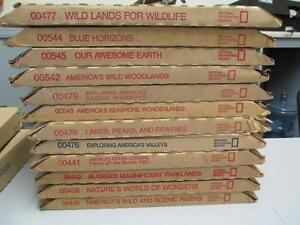 National Geographic Nature Set - WildLife / Earth /Woodlands/Etc