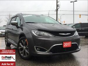 2017 Chrysler Pacifica *LTD*SAFETY TEC*DUAL SEAT MOUNT DVDS*PAN