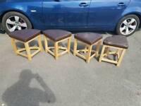 Kitchen oak chairs