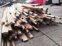Long lengths of HARDWOOD Off Cuts from a saw mill (8ft to 12ft Long)
