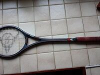 Dunlop Max 400S Squash Racket and Cover.
