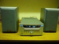 TEAC CR-L600 CD/RADIO RECEIVER with Eltax speakers