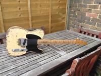 Fender relic esquire made in Mexico