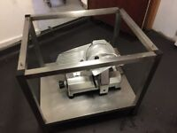 Pizza oven stand- stainless steel