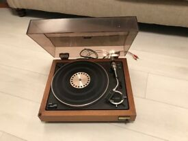 Sony PS-5520 Stereo Turntable System in teak cabinet