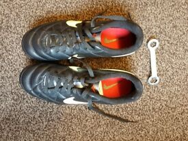 New Nike Football shoes size 3