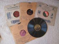 10 x 78 rpm records 1920's, 1930's (Batch 3), dance, foxtrot etc, song, music, incl comedienne,