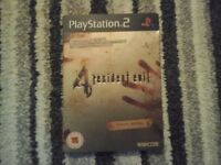 Resident evil 4 LIMITED EDITION ps2 perfect condition