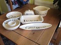 Bundle of English Pottery