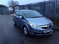2008 57 VAUXHALL CORSA 1.2 BREEZE NEW SHAPE ALLOYS AUX CD PLAYER ELECTRIC WINDOWS 2 OWNERS FROM NEW