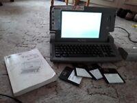Sharp Fontwriter word processor