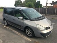 Renault Espace 1.9 Diesel dCi Authentique 5dr ,Spaciouse Family Car 2003 (53 reg), MPV