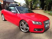 Audi A5 S5 Quattro 2dr S Tronic (red) 2011