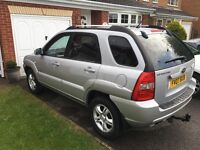 Runs like a dream with 4 new tyres and perfect spare. Low mileage for year. Black leather interior.