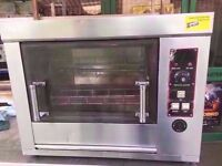 FASTFOOD COMMERCIAL ROTISSERIE CHICKEN GRILL MACHINE CATERING DINER TAKEAWAY PUB CAFE CANTEEN