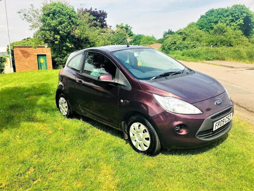 Ford Ka   Style Mot Feb  Just Serviced Purple