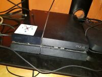 Sony PlayStation 4 - 500gb with 2 x games and 1 controller
