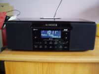 Roberts mp43 dab/cd/ipod radio