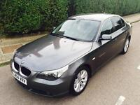 BMW 525d SE Auto saloon _low mileage and leather seats.