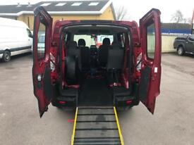 Peugeot expert teepee wheelchair accessible mobility disabled ramp