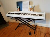 White Yamaha Digital Piano P-105 (Excellent condition)