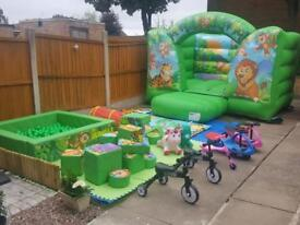 Jungle Soft Play, Bouncy Castle and Ride Ons