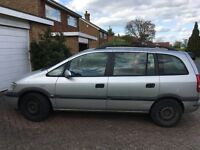 Vauxhall (Opel) Zafira 2.0 Diesel DTi (Spares or Repair)