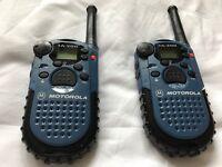 2 Motorola Walkie-Talkies