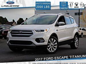 2017 Ford Escape TITANIUM**AWD*CUIR*TOIT* NAVI*CAMERA**