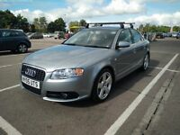 2005 Audi A4 2.0 TFSI S Line 4DR + Towbar + Roof racks - Great condition + Full history
