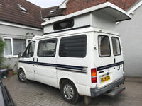 Ford Frisky autosleeper, transit 4 berth classic campervan