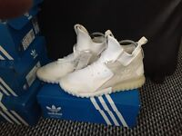 Brand new adidas tubular trainers