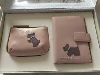Radley coin purse and card holder