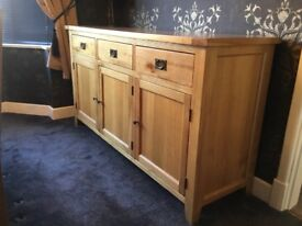 Vancouver Oak Sideboard- Nearly new