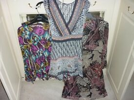 Ladies Fashion Tops x 3 size 14