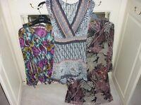 Ladies Fashion Tops x 3 size 14