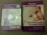 Maternity Natal Hypnotherapy cds and book