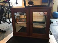 Pine Bathroom Cabinet (Good condition)