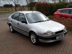 Toyota Corolla 1.3 GS Automatic 5 drs- ONLY 74K Miles - Cambelt done - Drives like NEW