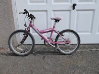 Pink 2 wheeler bike - suitable for 8 year old girl. Very good condition. Outgrown by present owner.