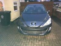 Peugeot 308 Unrecorded