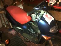 Aprilia Rally 50cc scooter for bing bike project or parts