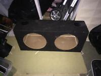 "Twin Ported 12"" Subwoofer Box"
