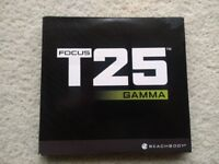 Shaun T's FOCUS T25 GAMMA Phase DVD Workout - BRAND NEW