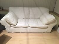 White sofa bed for sale