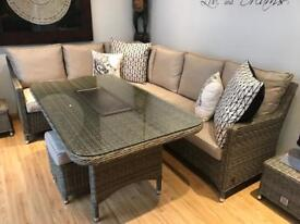Brand new corner dining table