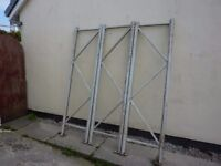 HEAVY DUTY PALLET RACKING SUITABLE COMMERCIAL OR GARAGE LOCK UP
