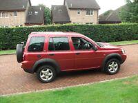 landrover freelander adventurer td 4wd 2000cc 2006 mot till feb19 £1400