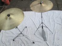 Drums - Basic HiHat and Cymbals £15 and Basic Cymbal and Stand £15